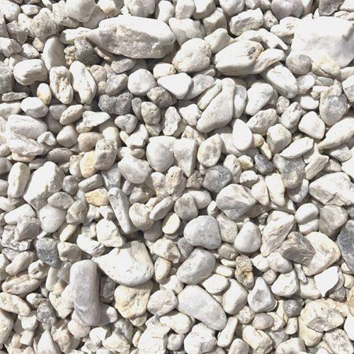 Bílošedivý okrasný kámen