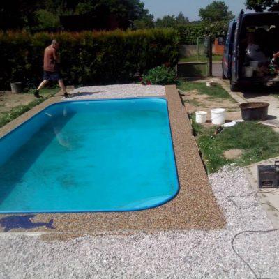 Kamenný koberec – bazény - 15