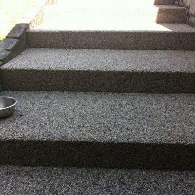 Kamenný koberec – schody - 30