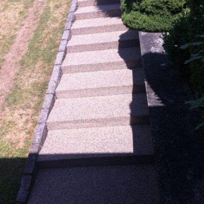 Kamenný koberec – schody - 31