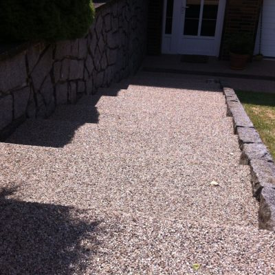 Kamenný koberec – schody - 33